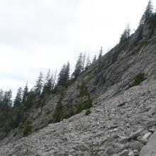 Kar bei der Karl-Emil-Hütte