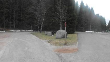 Parkplatz Weissebachr Höhe
