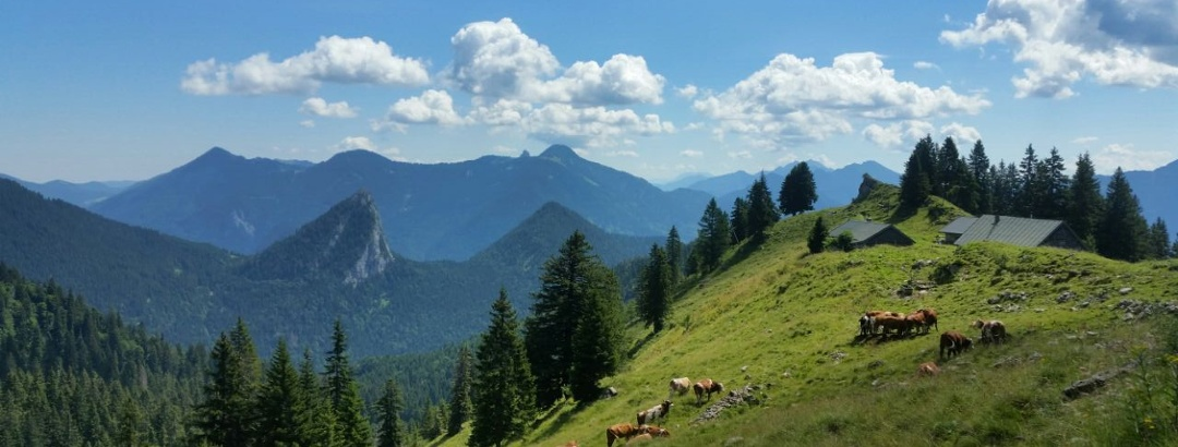 Aufstieg zur Tegernseer Hütte