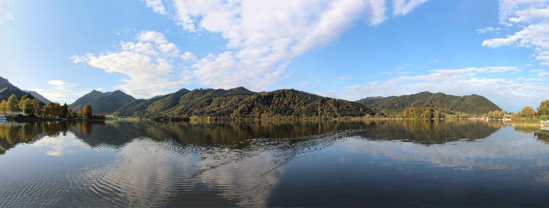 Panorama am Schliersee