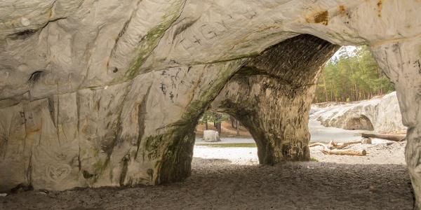 Sandsteinhöhlen