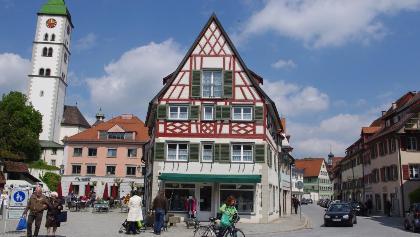 Saumarkt mit Blick auf St. Martin