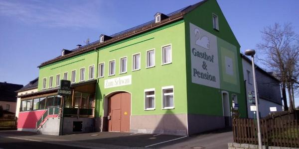 """Gasthof & Pension """"Zum Schwan"""", Langenbach"""
