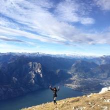Monte Altissimo - lago di garda