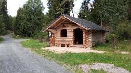 Schutzhütte am Jungfernsprung - Zinsbachtal