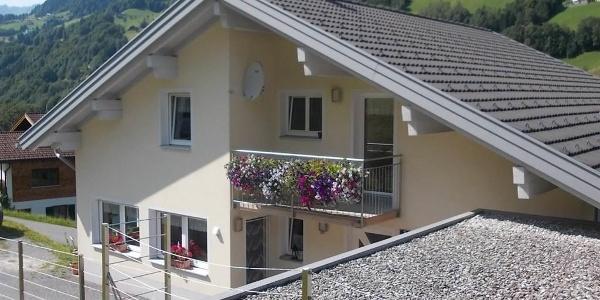 Haus Sommer von oben
