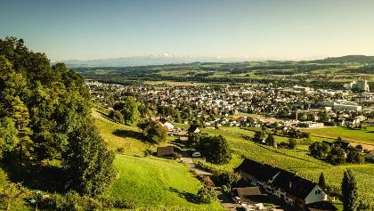 Blick über Weinfelden