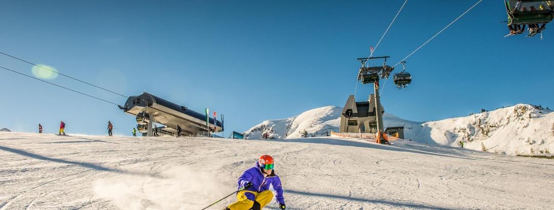 Skifahren in der Skiregion 4-Berge Skischaukel
