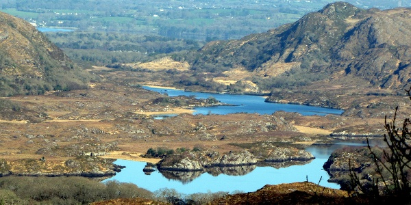 Killarney National Park from above