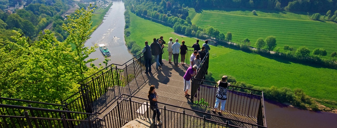 Aussichtsplattform Weser-Skywalk