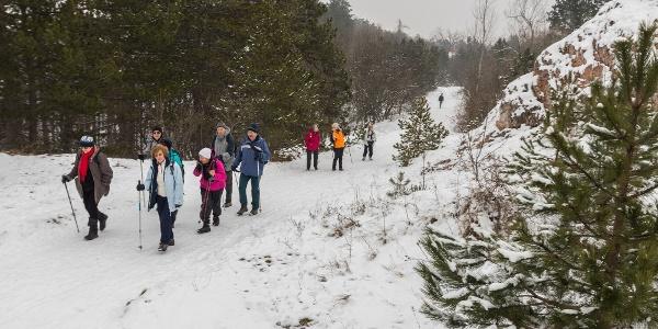 A környék télen-nyáron népszerű