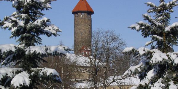 "Schlossturm mit Restaurant ""Zum Schlossturm"""