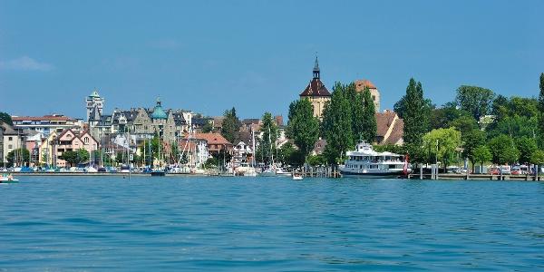 Das Ziel der Tour ist der Hafen von Arbon.