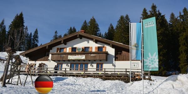 Traunsteiner Skihütte 1160 M Flagge