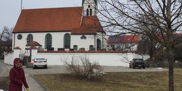Die Kirche von Unterfinning