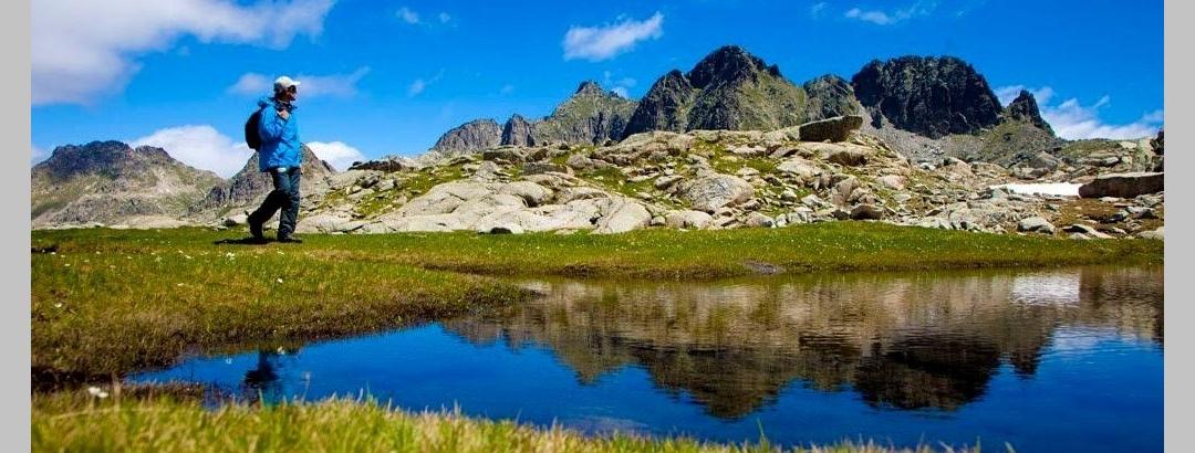 Die Seen von Saboredo im Val de Ruda