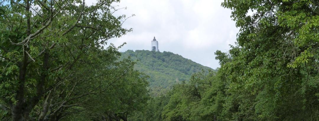 Blick auf das Kyffhäuser Denkmal