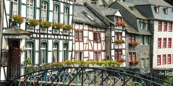 Eifelsteig Etappe 02: Roetgen - Monschau_Monschau Altstadt