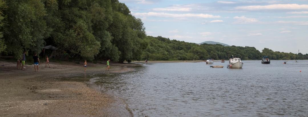 Itt kezdődik a Szentendrei Dunaág