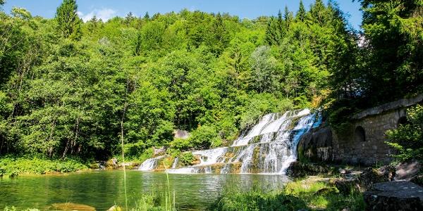 Wasserfall Saut du Day.