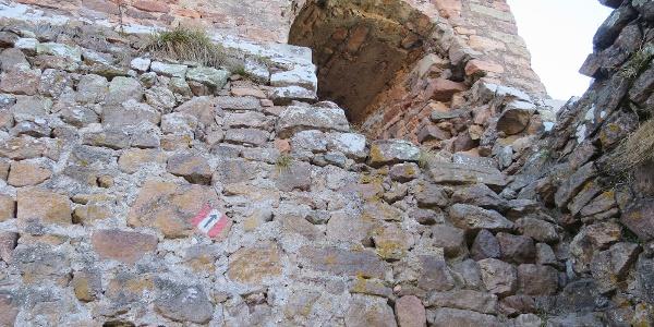 Einstieg in Schloss Greifenstein
