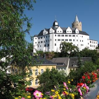 """Schloss Wildeck mit Aussichtsturm """"Dicker Heinrich"""""""