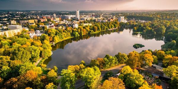 Chemnitz von Oben