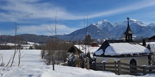 Winterwanderung in Bischofswiesen