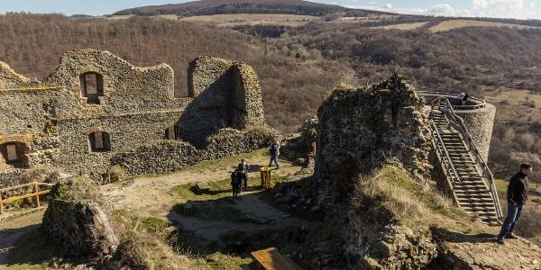 A vár belseje