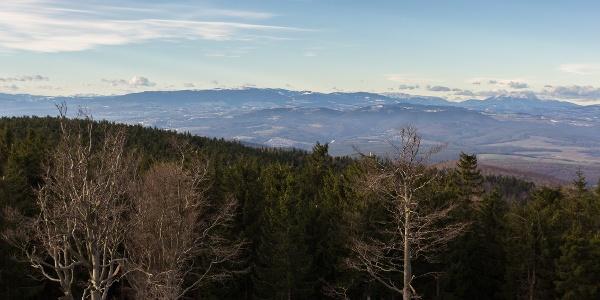 The view towards Austria