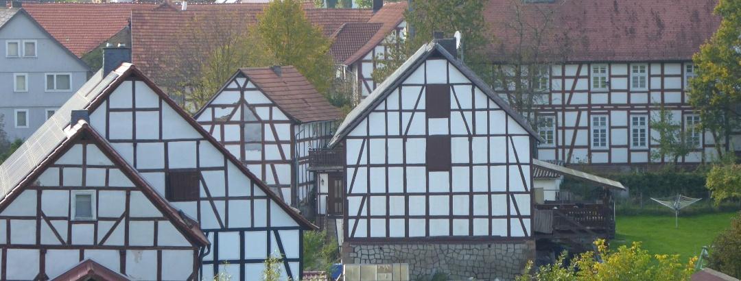 Fachwerkhäuser in Appenfeld
