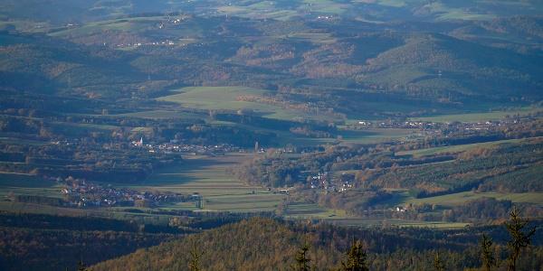 A zöld Burgenland az Írott-kőről