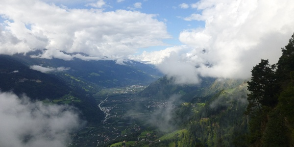 8. Etappe - Abstieg nach Meran (Tiroler Höhenweg)