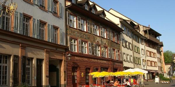 In der Altstadt von Rheinfelden.