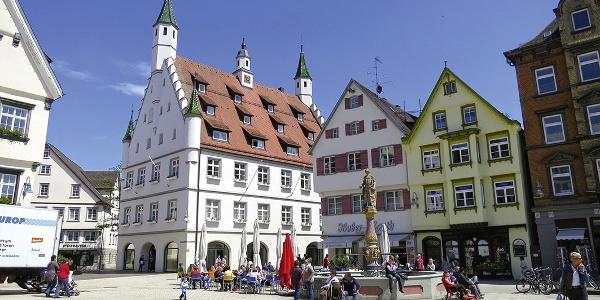 Marktplatz von Biberach