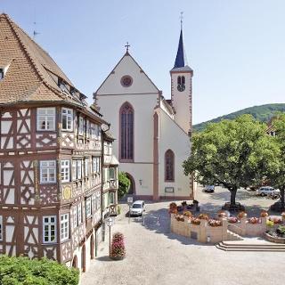 Das Palm'sche Haus aus der Spätrenaissance in Mosbach