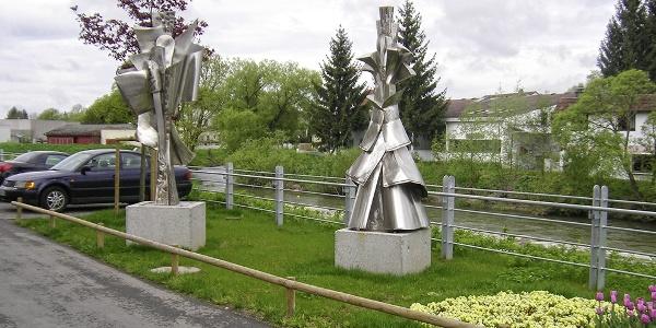 Skulpturen in Riedlingen