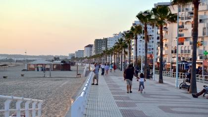 La Playa de Valdelagrana en El Puerto de Santa Maria