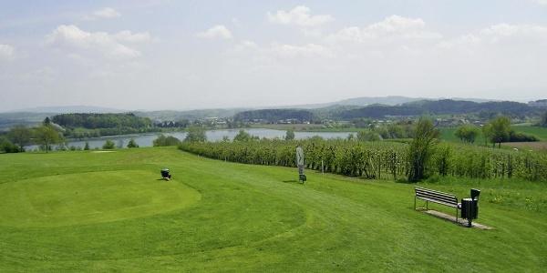 Golfanlage bei Aach-Linz