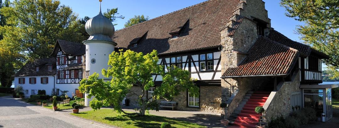 Die ehemalige Klosteranlage im Feldbach ist heute ein Hotel- und Gastrobetrieb.