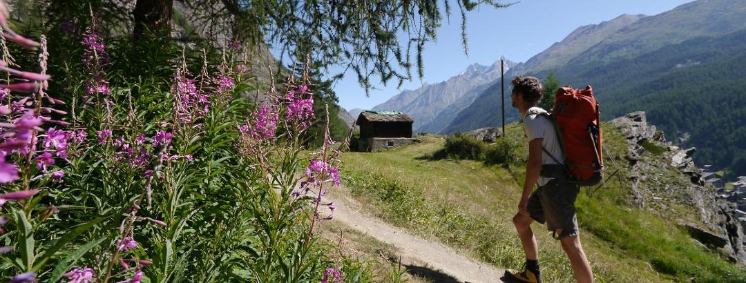 Aufstieg zur Rothornhütte