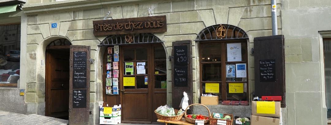 In der Unterstadt von Fribourg.