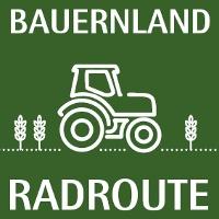Wegelogo Bauernland Radroute