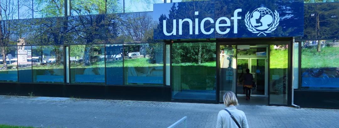 UNICEF-Gebäude.