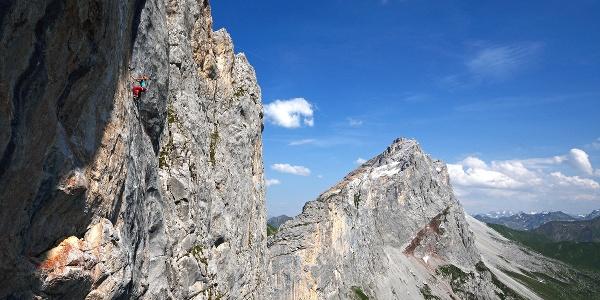 Nina Caprez / Kirchlispitzen Rätikon Prättigau Graubünden