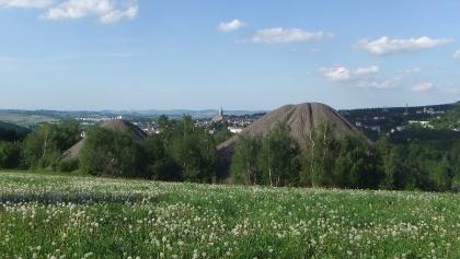 Mining landscape Buchholz - Terraconic Heaps of Shaft 116