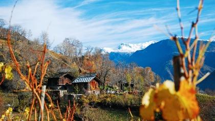 Schönste Aussichten in die Walliser Bergwelt.