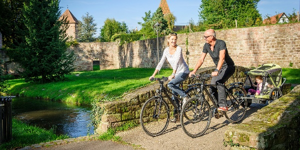 Radfahrspaß für die ganze Familie in Wissembourg