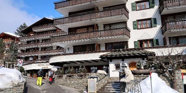 Hotel Alpina.