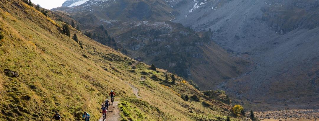 4-Seen Biketour in Engelberg